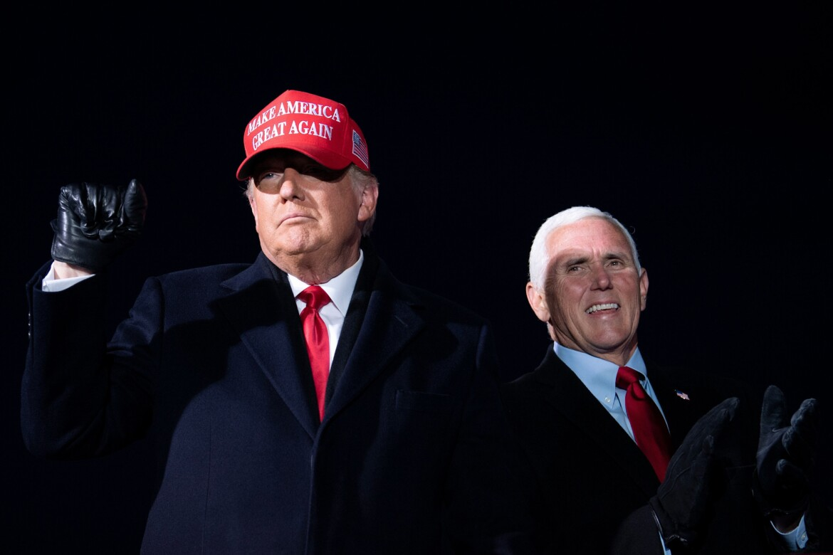 Trump declines to commit to running with Pence in 2024