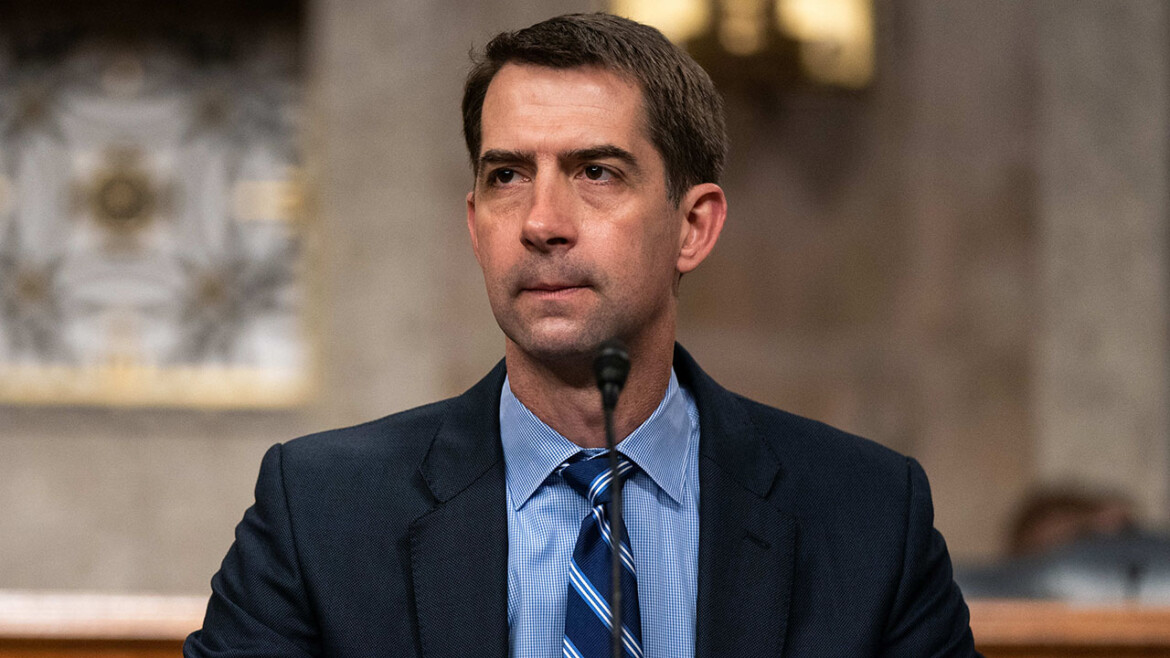 Cotton warns that China may try to collect DNA from athletes during Olympics