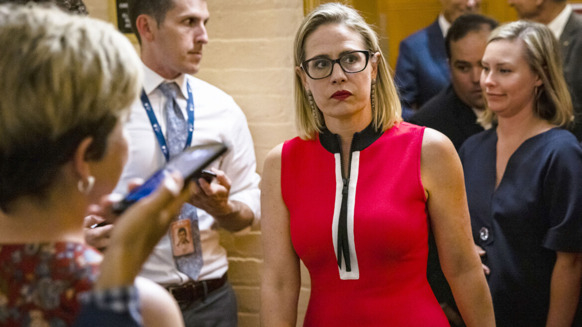 At least 10 arrested during protest outside Arizona Sen. Sinema's office in Phoenix