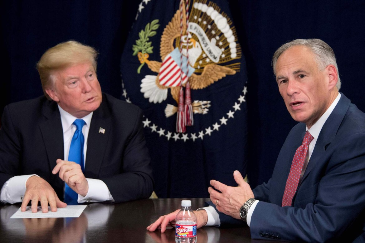 Gov. Abbott and Rival Try to Out-Trump Each Other With Vow to Build Wall in Texas But Give No Details How