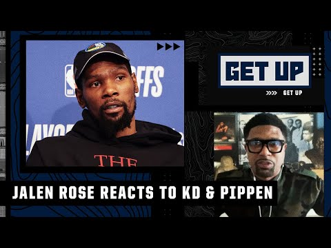 Jalen Rose reacts to Scottie Pippen criticizing Kevin Durant | Get Up