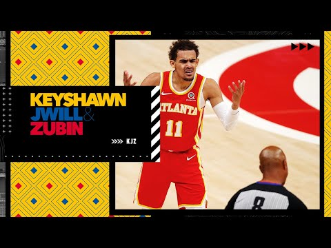 The Hawks' offense sputtered out after Trae Young stepped on a referee's foot – JWill   KJZ