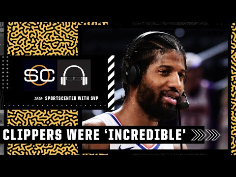 Stephen A. reacts to the Clippers' 'incredible' Game 5 performance vs. Suns   SC with SVP