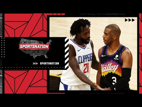 The Paul George slander fires up DeMarcus Cousins and Pat Bev imitates CP3's fall | SportsNation