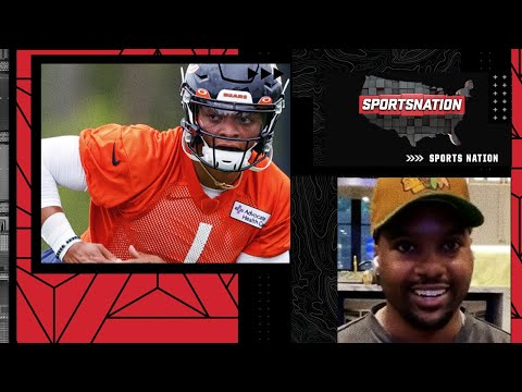 Steelo Brim talks Justin Fields, the Bears and his ridiculous sneaker game   SportsNation
