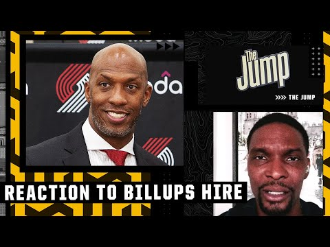 I think Chauncey Billups is the right hire – Chris Bosh   The Jump