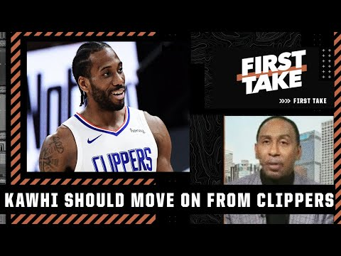 Stephen A. doubles down on Clippers moving on from Kawhi Leonard | First Take