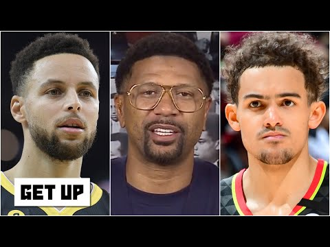 Jalen Rose on the differences between Trae Young and Stephen Curry   Get Up