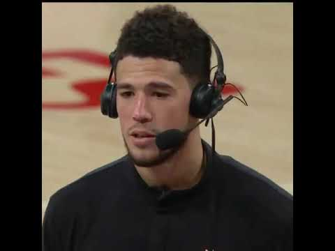 I've been working my whole life for this moment so it wasn't time to shy away from it – Devin Booker