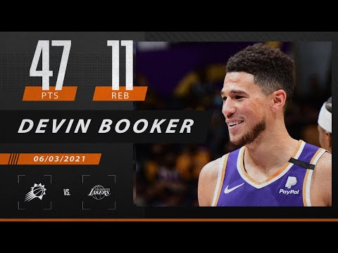 Devin Booker drops 47 points to hand LeBron his first, first-round playoff exit | 2021 NBA Playoffs