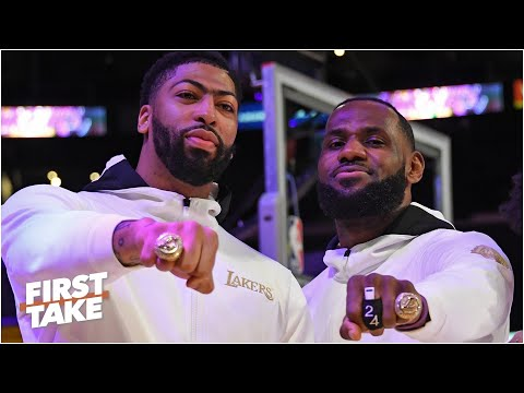 Can LeBron and Anthony Davis win another title with the Lakers? First Take debates