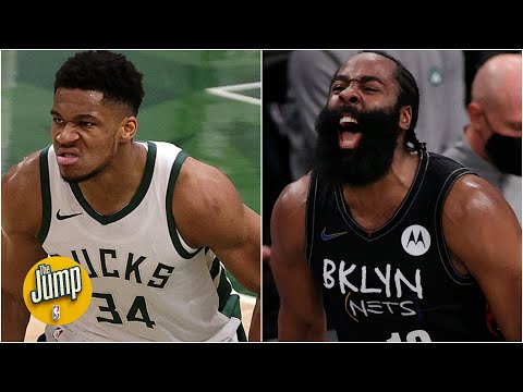 Will the Giannis-Harden beef carry over to the Bucks vs. Nets series? | The Jump