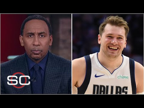 """Stephen A. Smith is """"shocked"""" by Luka's dominance in this series 