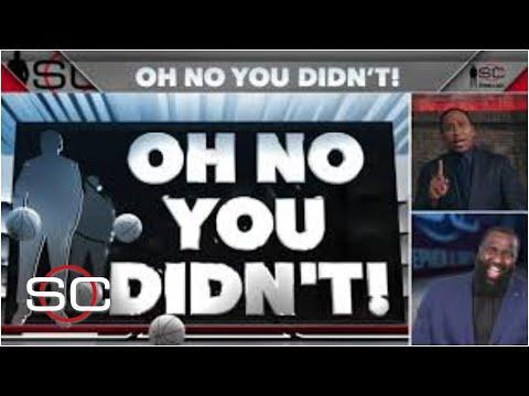 Stephen A's OH NO YOU DIDN'T! NBA Playoff moments so far‼️