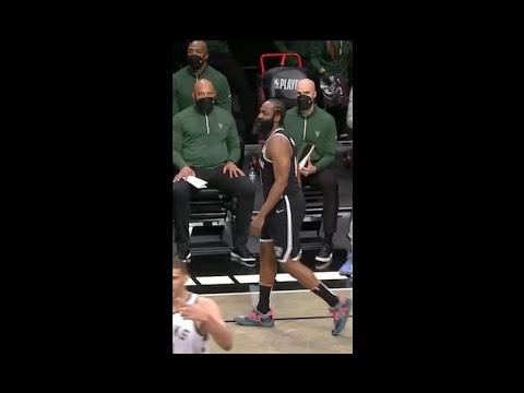 James Harden leaves Game 1 vs. Bucks with hamstring injury | 2021 NBA Playoffs