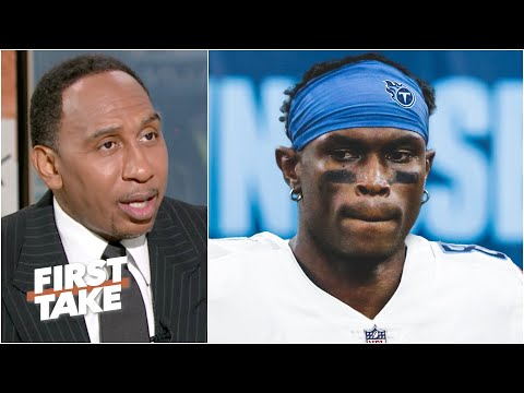 'I love it!' – Stephen A. reacts to Julio Jones to the Titans | First Take