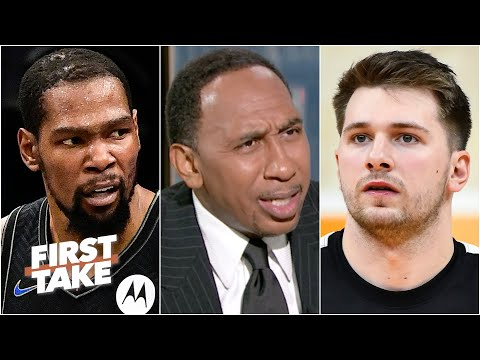 'Luka ain't Kevin Durant!' – Stephen A. and Max debate the best player on the planet | First Take