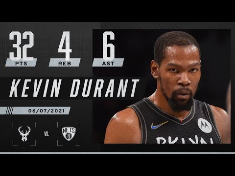 Kevin Durant drops 32 PTS as Nets OBLITERATE Bucks in Game 2 ‼️ | 2021 NBA Playoffs