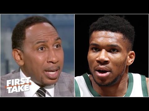 Stephen A. roasts Giannis and the Bucks, calls Game 2 a 'national embarrassment' | First Take