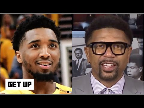 Jalen Rose reacts to Jazz vs. Clippers: Donovan Mitchell is 'unstoppable!' | Get Up