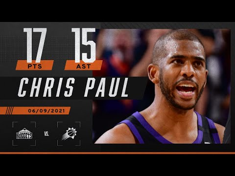 ☀️ Chris Paul makes NBA HISTORY with 15 AST as Suns DOMINATE Nuggets ☀️   2021 NBA Plaoyffs