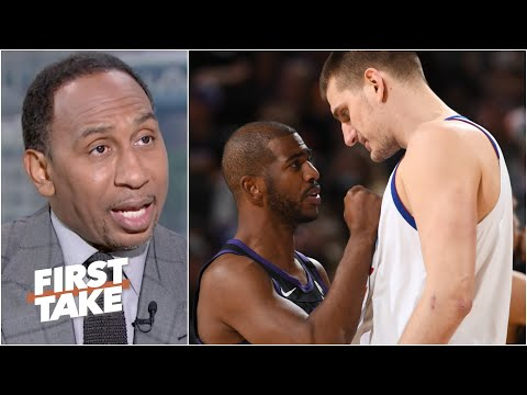 Stephen A. reacts to Suns vs. Nuggets Game 2 and praises Chris Paul's leadership | First Take