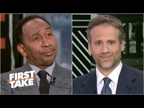 Stephen A. exposes Max's cold take about Kevin Durant vs. Giannis | First Take