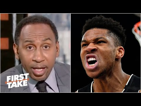 Stephen A. sets high expectations for Giannis in Game 3 vs. the Nets | First Take