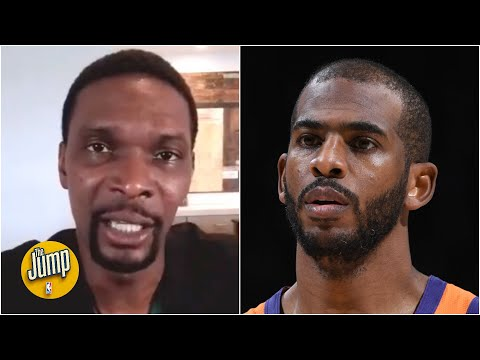 Chris Paul is showing us the Suns want to win a championship – Chris Bosh ☀️   The Jump