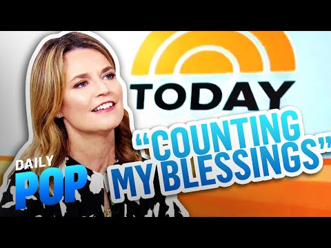 """Savannah Guthrie Looks Back at 10 Years on """"TODAY"""" Show 