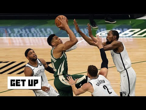 The Bucks got physical with the Nets! – Kendrick Perkins on Nets vs. Bucks Game 3   Get Up