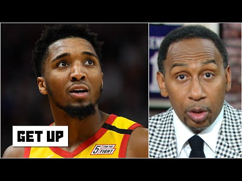 Stephen A. crowns Donovan Mitchell as the greatest Jazz player EVER | Get Up