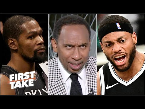 Stephen A. reacts to Bruce Brown's 'blasphemous' play in Nets vs. Bucks Game 3 | First Take