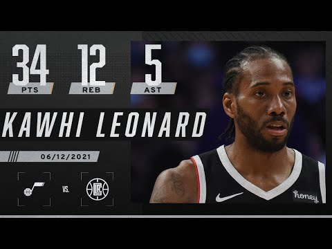 Kawhi Leonard's 34 PTS fuel Clippers to Game 3 win ‼️