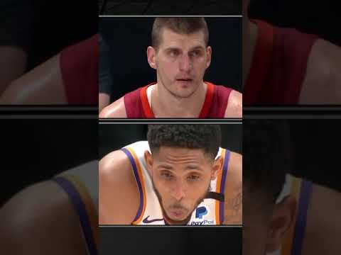 Nikola Jokic ejected from Game 4 after swipe to Cameron Payne's face #Shorts