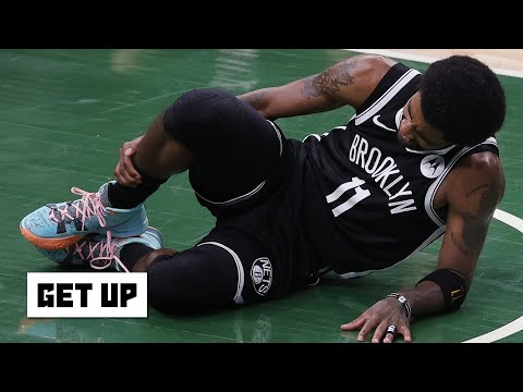 Reacting to Kyrie Irving leaving Game 4 with a sprained right ankle | Get Up