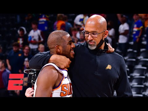 'It felt like a movie' – JWill on Chris Paul embracing Monty Williams after sweeping the Nuggets
