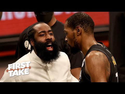 Can the Nets win a game without Kyrie Irving and James Harden? | First Take