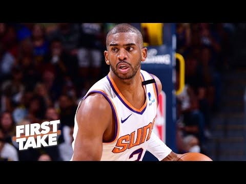 Would Chris Paul be a top-5 PG is he wins a ring? | First Take