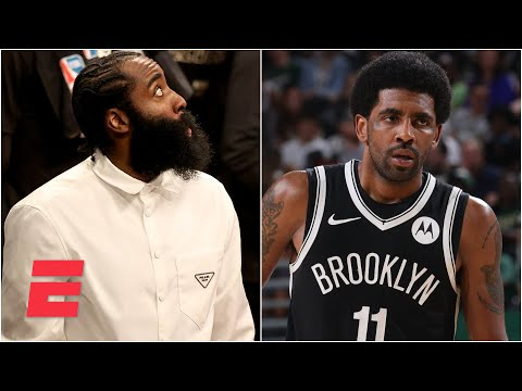 Woj breaks down the latest on Kyrie Irving and James Harden's injuries | KJZ