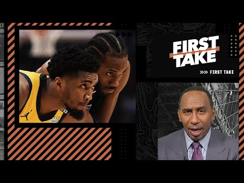 Stephen A. reacts to Kawhi and Paul George scoring 31 points in Game 4 & picks the Jazz to win in 7