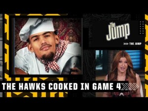 'The Hawks cooked up something special in Game 4' ♨️ – Rachel Nichols | The Jump