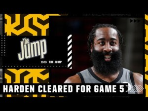 Reacting to James Harden being cleared to play in Game 5 vs. the Bucks | The Jump