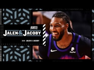 Jae Crowder on the Suns' playoff success and guarding LeBron James | Jalen & Jacoby
