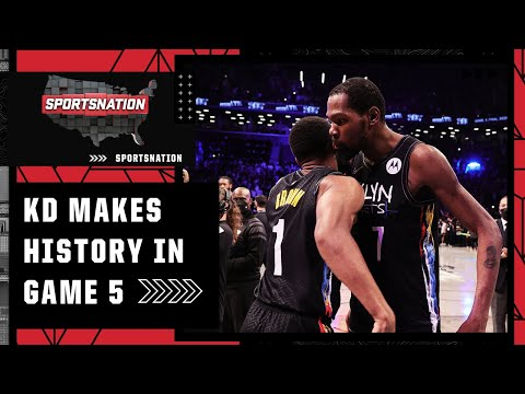 Kevin Durant saves the Brooklyn Nets in Game 5 | SportsNation
