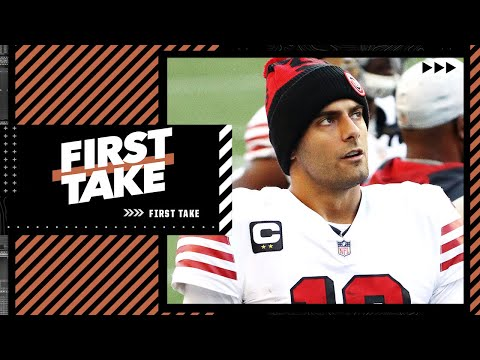 Jimmy Garoppolo or Trey Lance: Which QB will be the 49ers' starter by midseason? | First Take