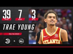Trae Young drops playoff career-high 39 PTS in Hawks' HUGE Game 5 comeback 🔥 | 2021 NBA Playoffs