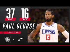 Paul George unleashes 'Playoff P' in Clippers' Game 5 win over Jazz | 2021 NBA Playoffs