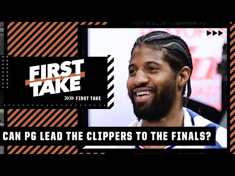 Reacting to Paul George leading the Clippers to a Game 5 win | First Take