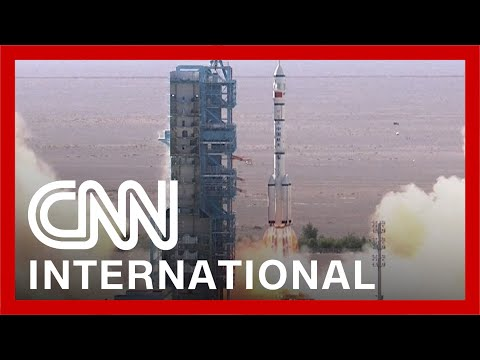 See Chinese rocket launch to send astronauts to its space station